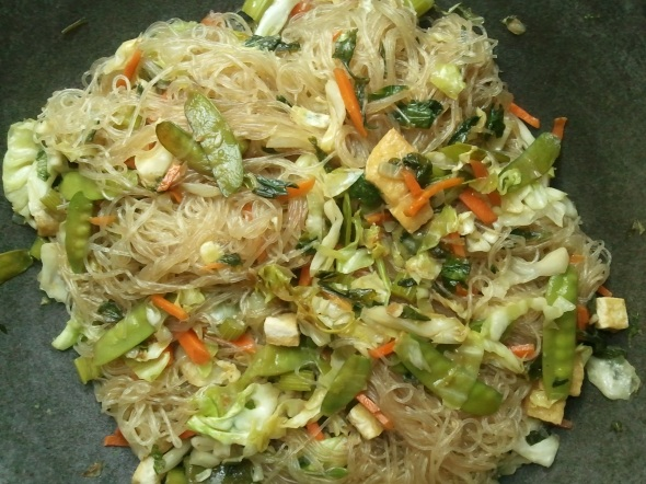 I would call this healthy vermicelli.