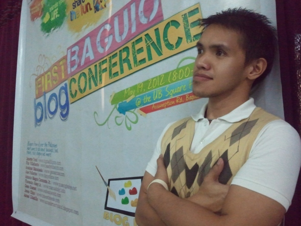 Had fun at the First Baguio Blog Conference! (Photo by Stella Jezebel Ogues.)