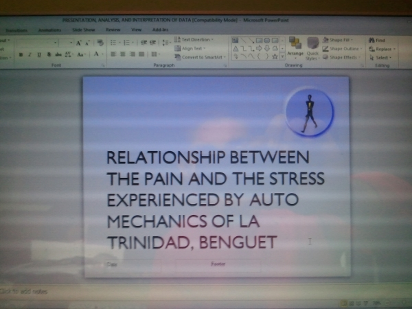 Chanced upon the PowerPoint presentation for our then college thesis.