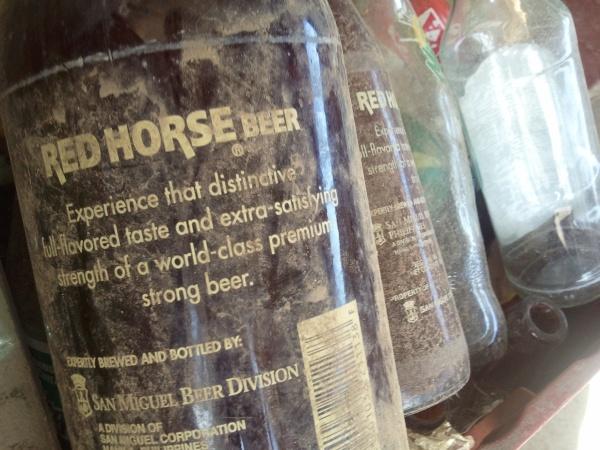 Poison bottles. :)